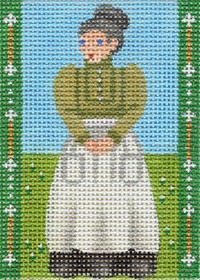 click here to view larger image of Avonlea Characters - Marilla Cuthbert (hand painted canvases)