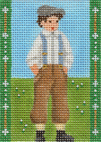 click here to view larger image of Avonlea Characters - Gilbert Blythe (hand painted canvases)