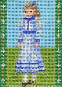 click here to view larger image of Avonlea Characters - Josie Pye (hand painted canvases)