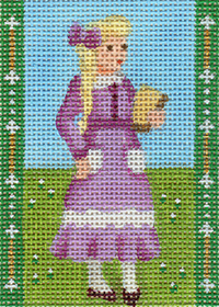 click here to view larger image of Avonlea Characters - Ruby Gillis (hand painted canvases)
