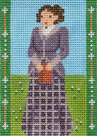 click here to view larger image of Avonlea Characters - Miss Stacey (hand painted canvases)