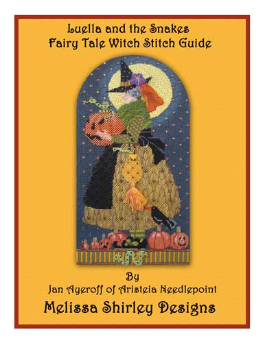 click here to view larger image of Luella And The Snakes Fairy Tale Witch - Stitch Guide (books)