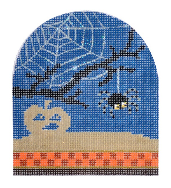 click here to view larger image of Spooky Animal - Spider (hand painted canvases)
