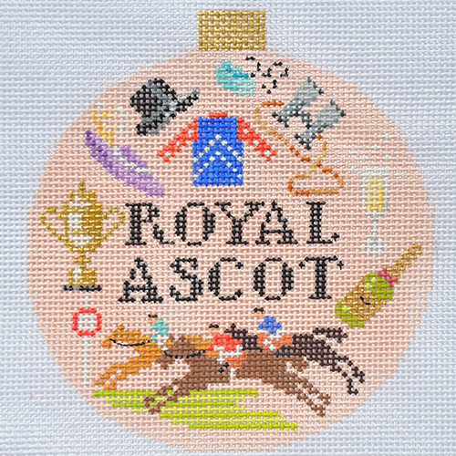 click here to view larger image of Sporting Round - Royal Ascot (hand painted canvases)