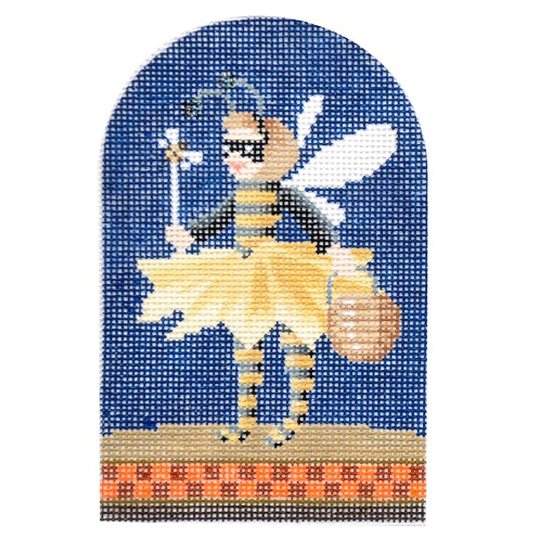 click here to view larger image of Trick-or-Treater - Bumble Bee (hand painted canvases)