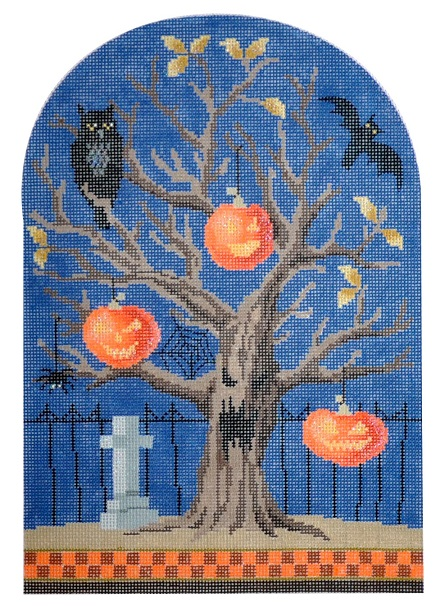 Spooky Tree - Pumpkins - click here for more details