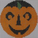 click here to view larger image of Wide-Eye Pumpkinface (hand painted canvases)
