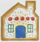 click here to view larger image of Gingerbread House Cookie (hand painted canvases)