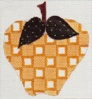 click here to view larger image of Yellow Apple (hand painted canvases)