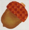 click here to view larger image of Acorn (hand painted canvases)