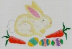 click here to view larger image of Bunny (hand painted canvases)
