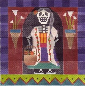 click here to view larger image of Day Of The Dead - Abuela (Grandmother) (hand painted canvases)