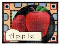 click here to view larger image of Apples (hand painted canvases)