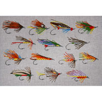 click here to view larger image of Fishing Flies (hand painted canvases)