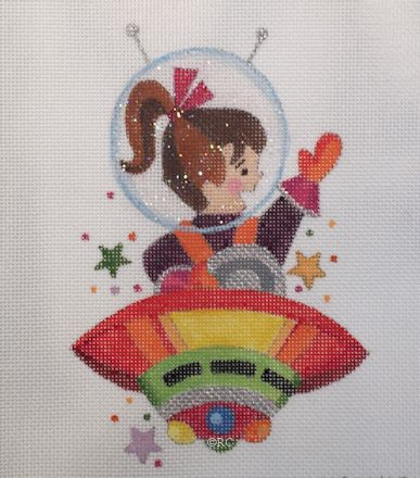 click here to view larger image of Astro Girl (hand painted canvases)