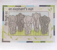 click here to view larger image of As High As An Elephants Eye (hand painted canvases)