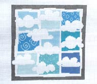 click here to view larger image of Nine Clouds - Stitch Guide (books)