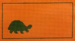 click here to view larger image of Desert Critter Tortoise (hand painted canvases)
