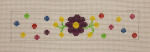 click here to view larger image of Bracelet - Mexican Flowers (hand painted canvases)