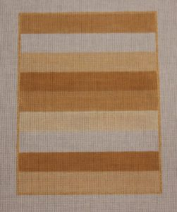click here to view larger image of Color Study - Beige Stripes (hand painted canvases)