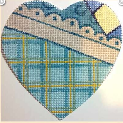 click here to view larger image of Boy Heart (hand painted canvases)