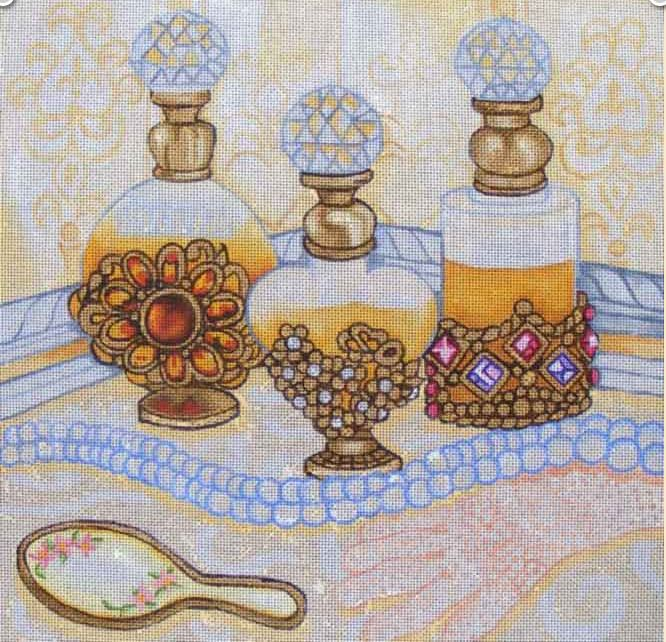 click here to view larger image of Perfume (hand painted canvases)