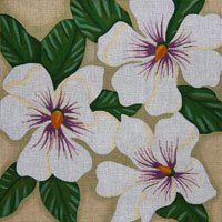 click here to view larger image of Magnificent Magnolias (hand painted canvases)