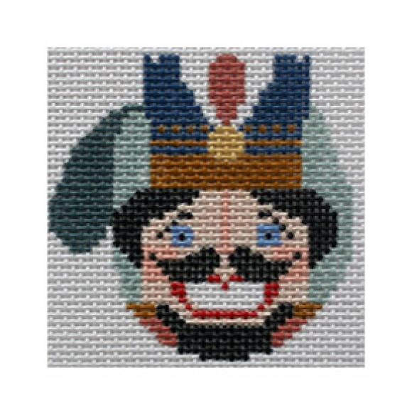 click here to view larger image of Nutcracker Mitten (hand painted canvases)