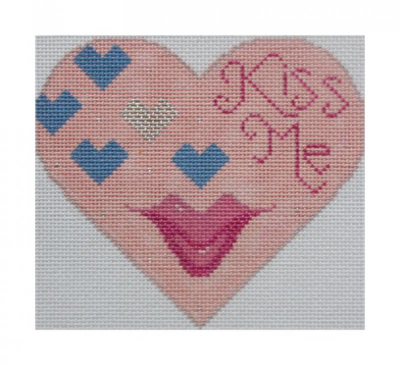 click here to view larger image of Kiss Me (hand painted canvases)