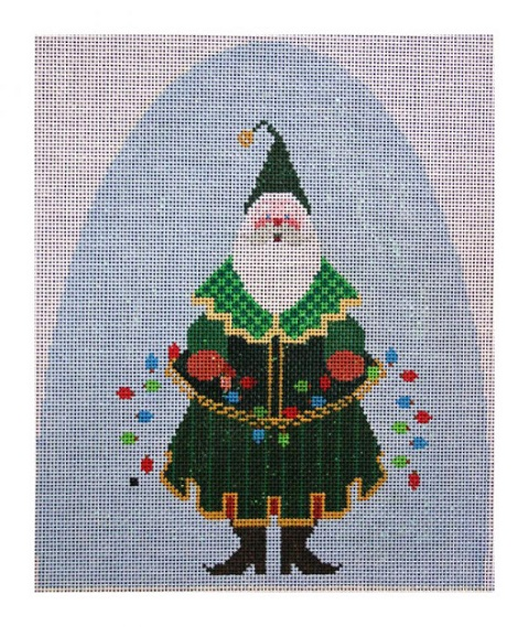 click here to view larger image of Santa Snowdome (hand painted canvases)