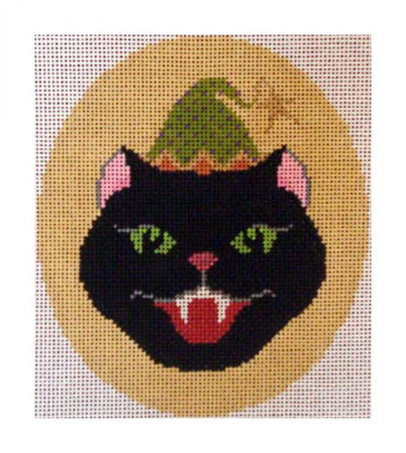 click here to view larger image of Vampire Cat (hand painted canvases)
