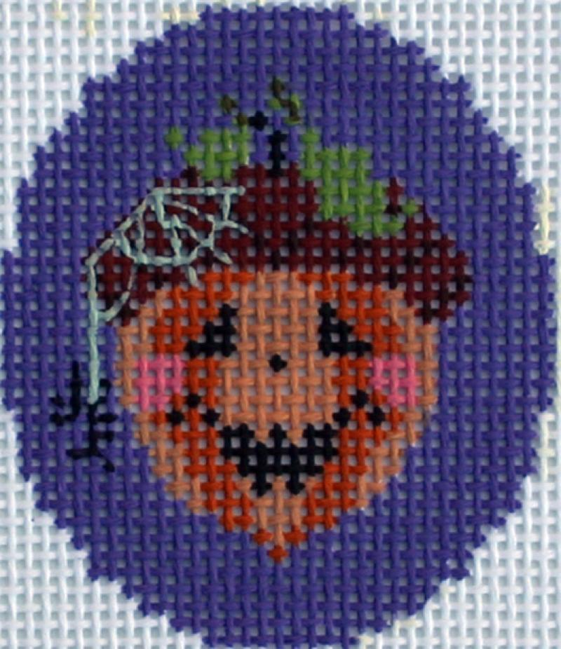 click here to view larger image of One Fell In The Pumpkin Patch (hand painted canvases)