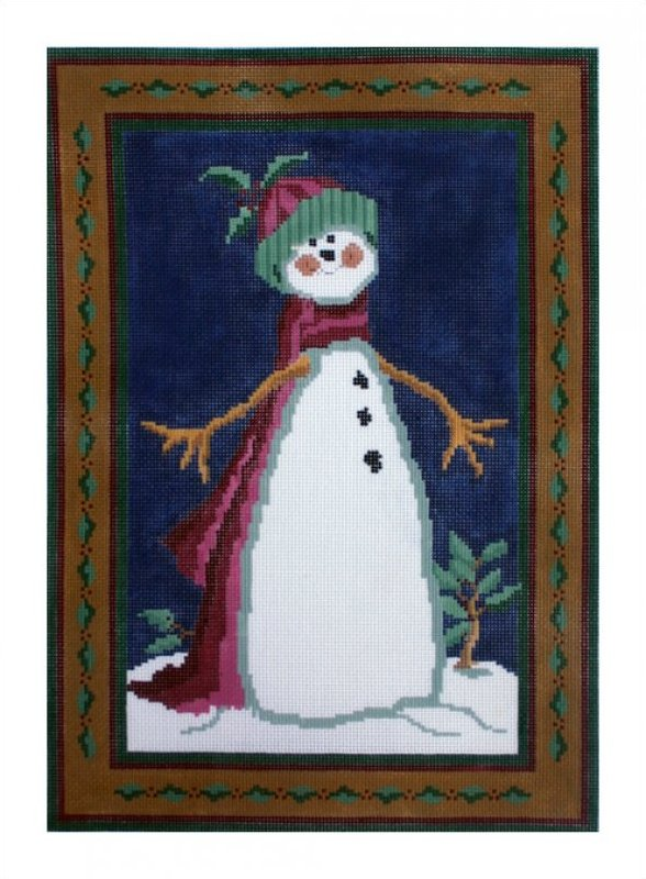 click here to view larger image of Flaky (hand painted canvases)