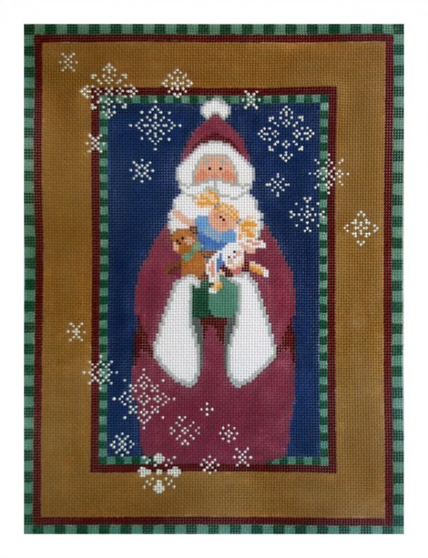 click here to view larger image of Gift Bringer (hand painted canvases)