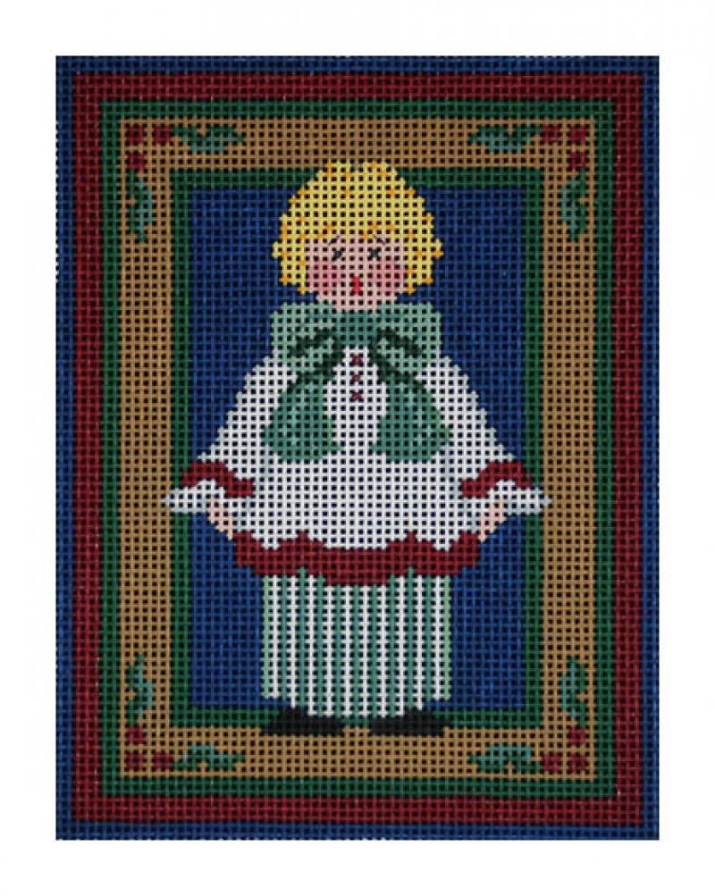 click here to view larger image of Baby Caroler (hand painted canvases)