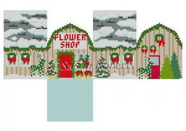 click here to view larger image of Flower Shop - 18ct (hand painted canvases)