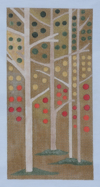 click here to view larger image of Autumn Trees (hand painted canvases)