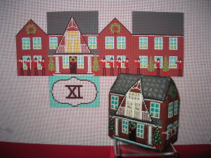 click here to view larger image of Eleven Pipers Piping House (hand painted canvases)