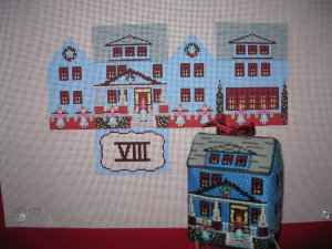 click here to view larger image of Eight Maids A Milking House (hand painted canvases)