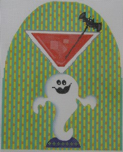 click here to view larger image of Ghostly Cocktail (hand painted canvases)