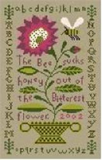 click here to view larger image of Bitter Flower Sampler (hand painted canvases)