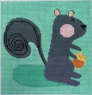 click here to view larger image of Nutty Squirrel (hand painted canvases)