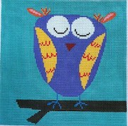 click here to view larger image of Hootsy Owl (hand painted canvases)