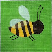 click here to view larger image of Buzz Bee (hand painted canvases)
