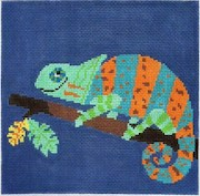 click here to view larger image of Leapin Lizard (hand painted canvases)