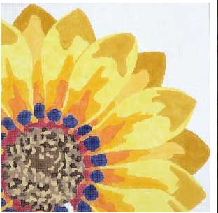 click here to view larger image of Large Summer Sunflower (hand painted canvases)