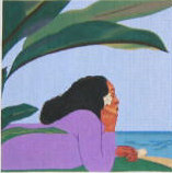 click here to view larger image of Walk Across The Sea II (hand painted canvases)