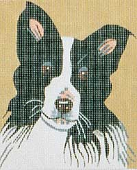 click here to view larger image of Hazel - Border Collie (hand painted canvases)
