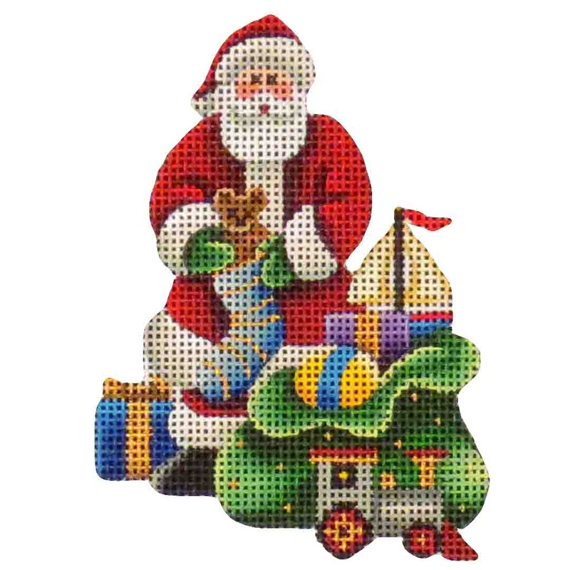 click here to view larger image of Bag Of Toys (hand painted canvases)
