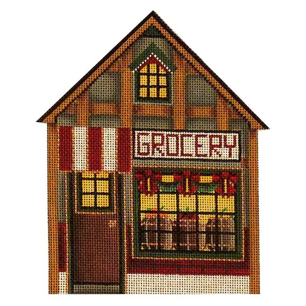click here to view larger image of Grocery Store (hand painted canvases)